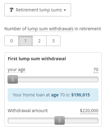 home loan payoff using lump sums